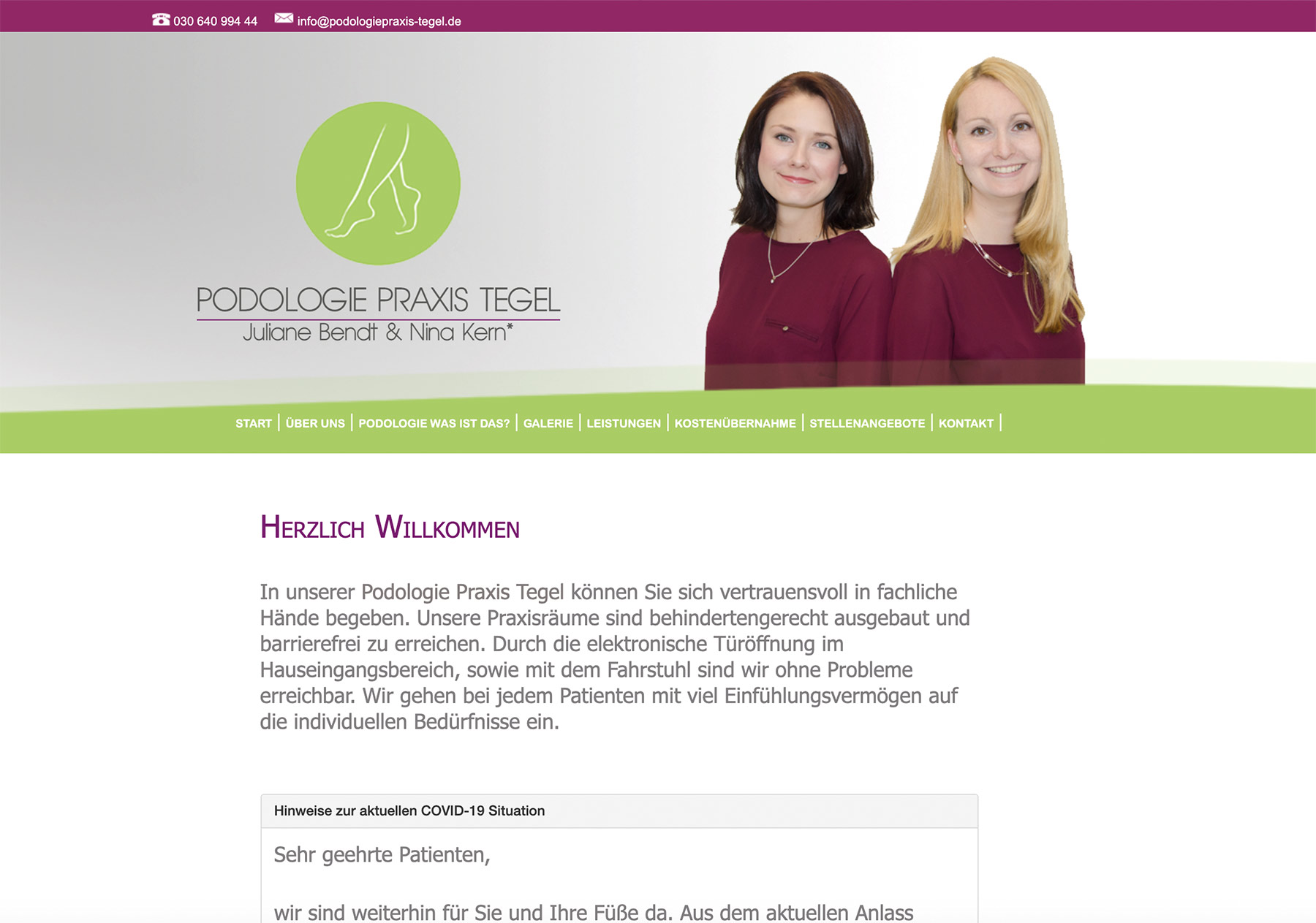 Professionelles Webdesign aus Spandau